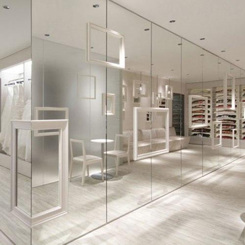 Modern-mirror-panels-wall-decoration